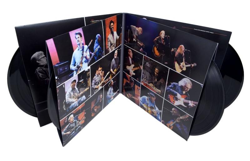 Eric Clapton Guitar Festival Crossroads 2013 4x Vinyl Lp Set